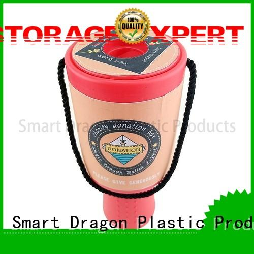 SMART DRAGON large plastic collection box free delivery for wholesale