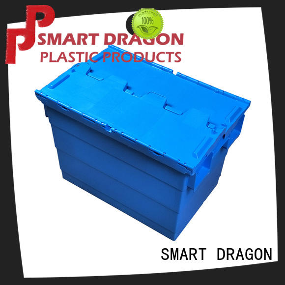 SMART DRAGON lidded plastic storage boxes features for dislocation