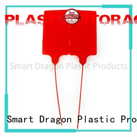 Hot standard plastic bag security seal barcode temper SMART DRAGON Brand