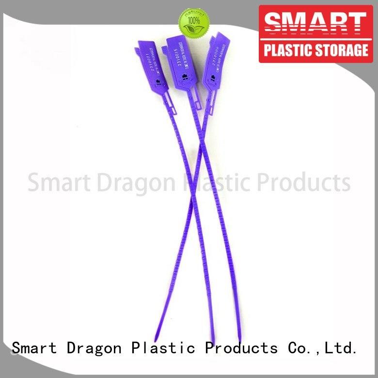 SMART DRAGON plastic container seal tight for ballot box