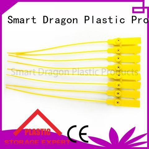SMART DRAGON by plastic safety seal padlock for voting box