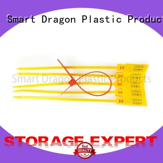 Pull Tight Plastic Security Self-Locking Barcode Seals