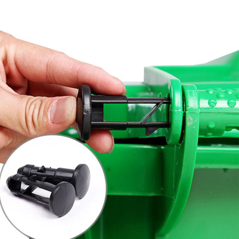 Customized Plastic Trash Can Dust Bin Dustbin Garbage Waste Bin-2