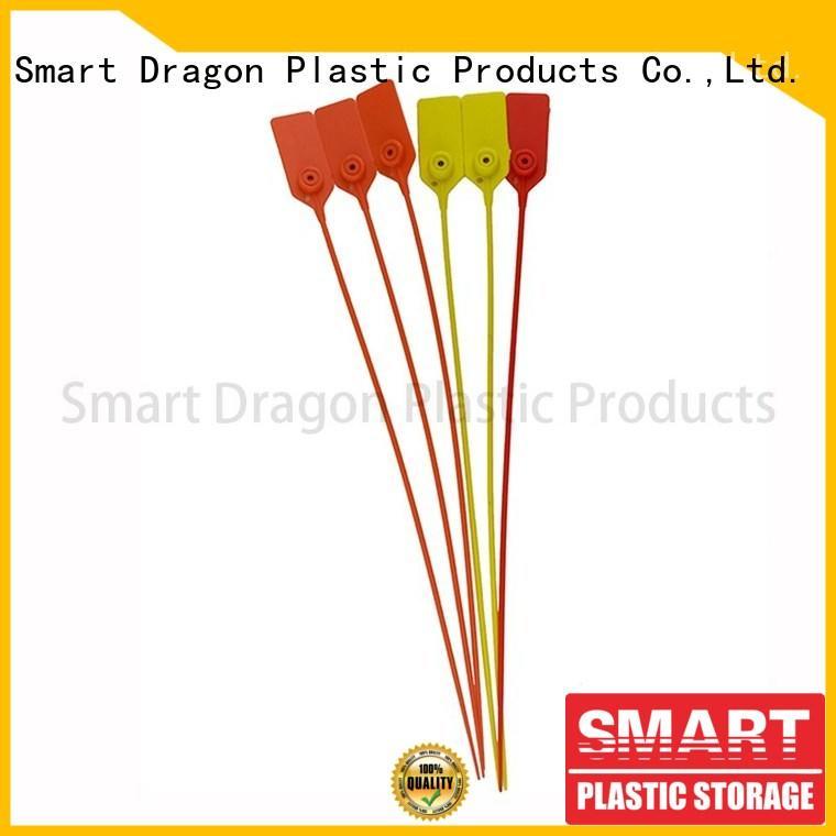 SMART DRAGON colored plastic seals for trucks polypropylene for ballot box