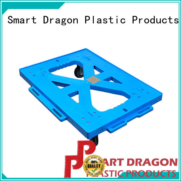 SMART DRAGON customize plastic trolley features for deck