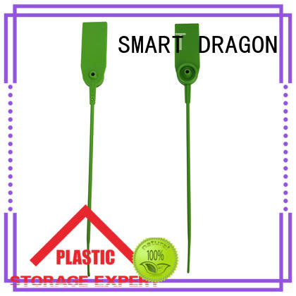 SMART DRAGON lock plastic container seal extinguisher for voting box