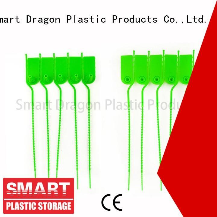 SMART DRAGON customized plastic tamper seals polypropylene for packing