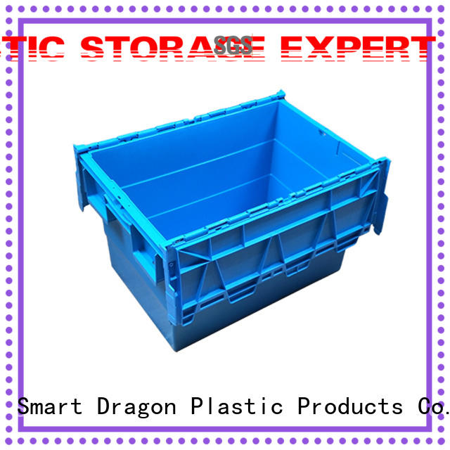 SMART DRAGON Brand large plastic turnover crate