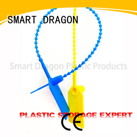SMART DRAGON security ties plastic pull for voting box