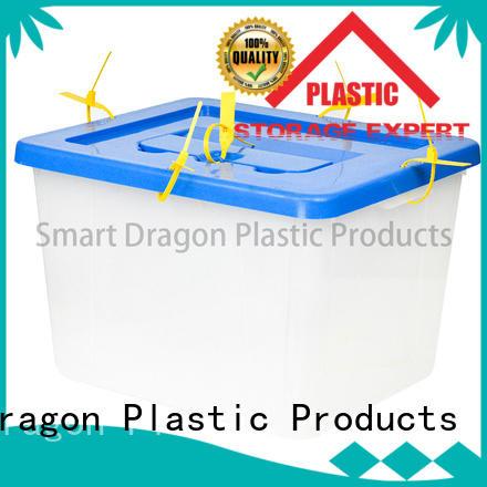 SMART DRAGON Brand 86l 40l45l polypropylene ballot box company