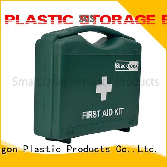 red first aid box portable for home SMART DRAGON