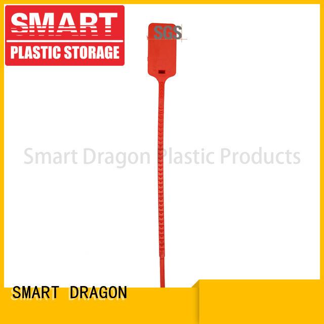 plastic padlock seal polypropylene for voting box SMART DRAGON