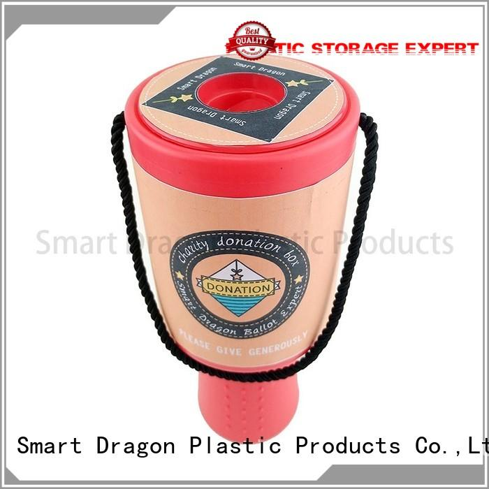 durable donation collection boxes charity custom logo for wholesale