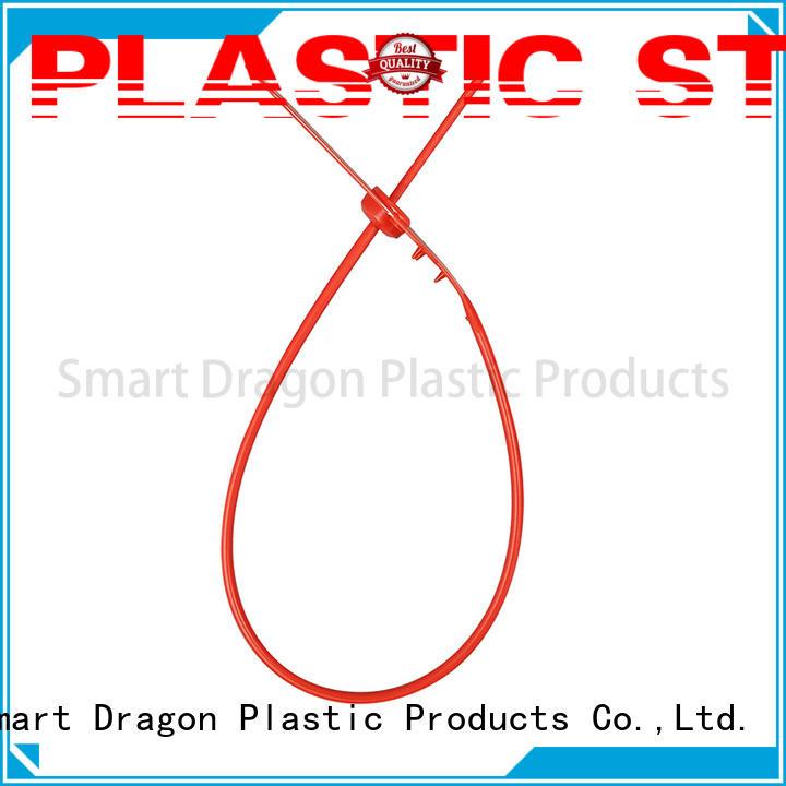Custom tamper seals plastic bag security seal SMART DRAGON length