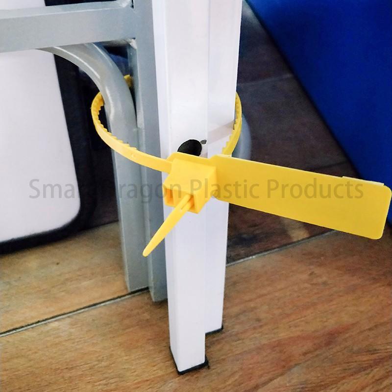 SMART DRAGON printed plastic container seals padlock for ballot box-3