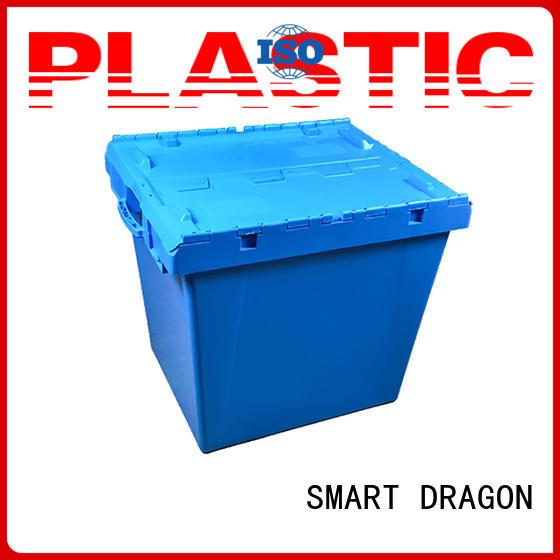 folding storage easy SMART DRAGON Brand plastic turnover boxes