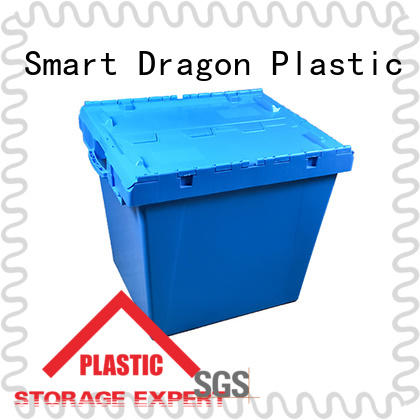 easy durable turnover crate solid for forwarder SMART DRAGON