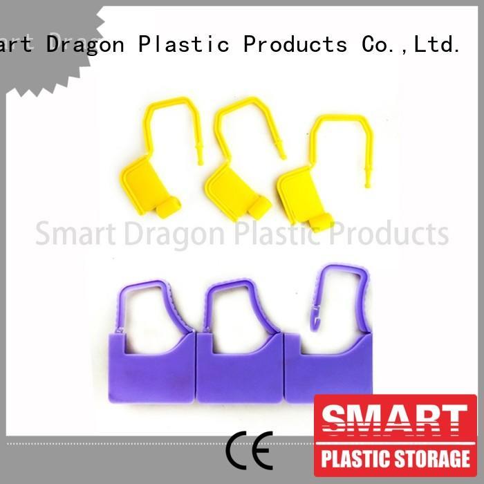 SMART DRAGON serial plastic truck seals seamless for voting box