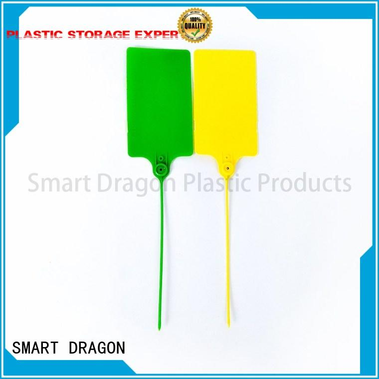 SMART DRAGON printed numbered security seals pull for packing