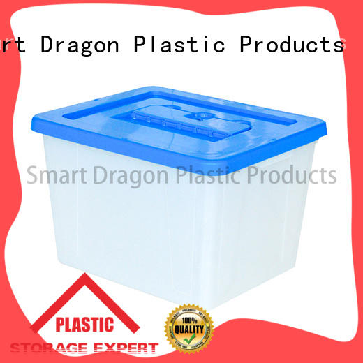 SMART DRAGON thick base clear ballot box with lock standing for election