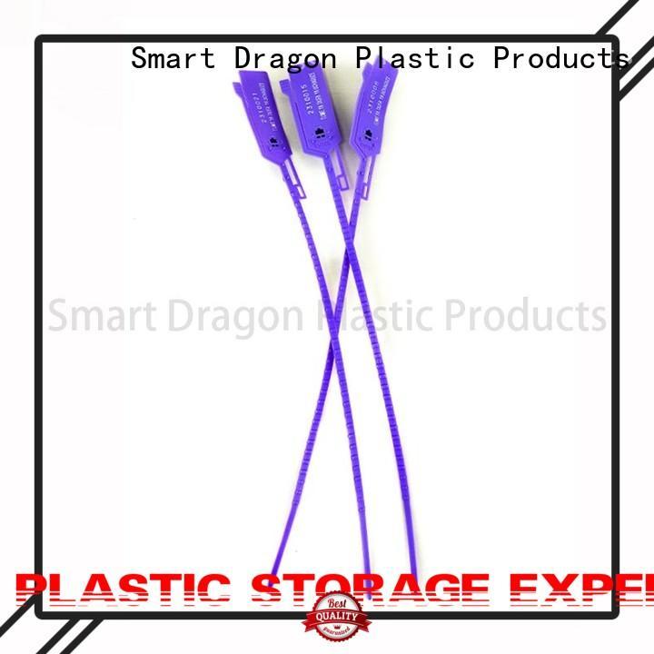 Custom tank plastic bag security seal tamper SMART DRAGON
