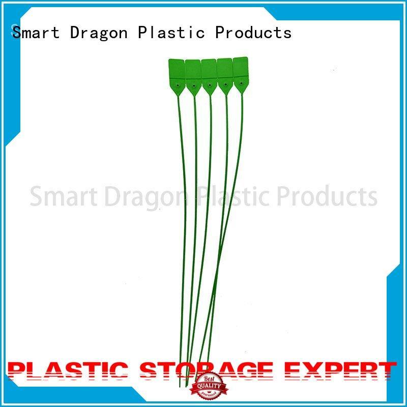 SMART DRAGON Brand plastic plastic bag security seal standard factory