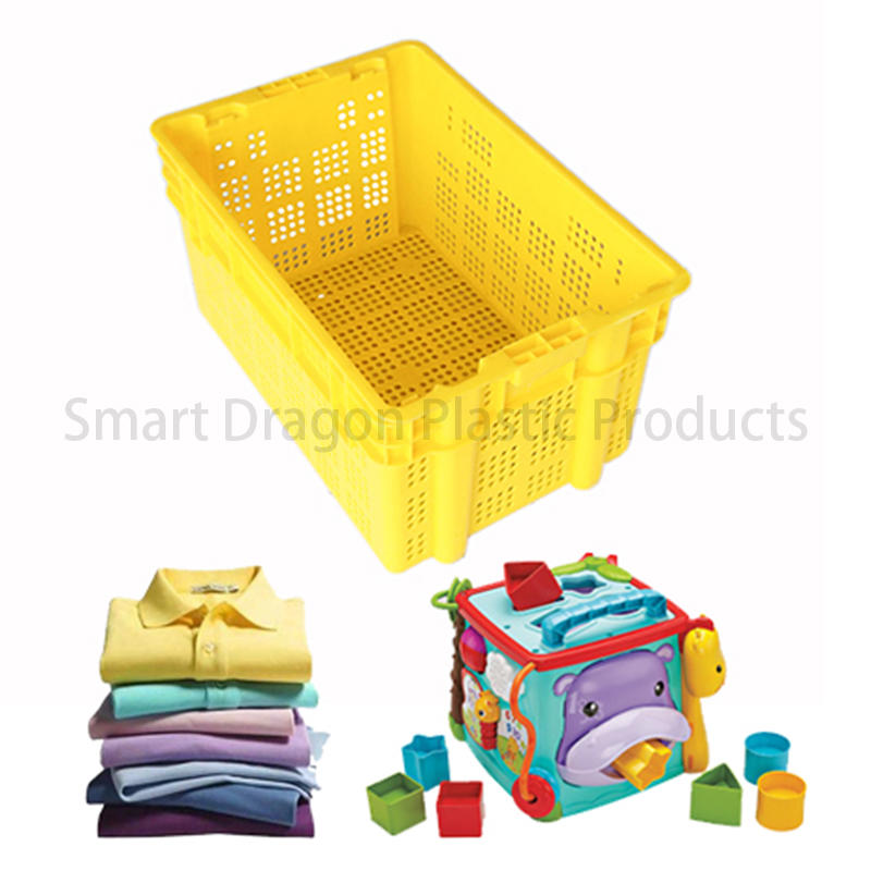 SMART DRAGON turnover turnover crate with lid free sample for supermarket-3