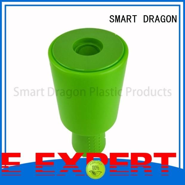 SMART DRAGON Brand pink black plastic charity box manufacture