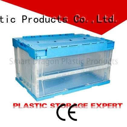 box pp containers turnover crate SMART DRAGON Brand