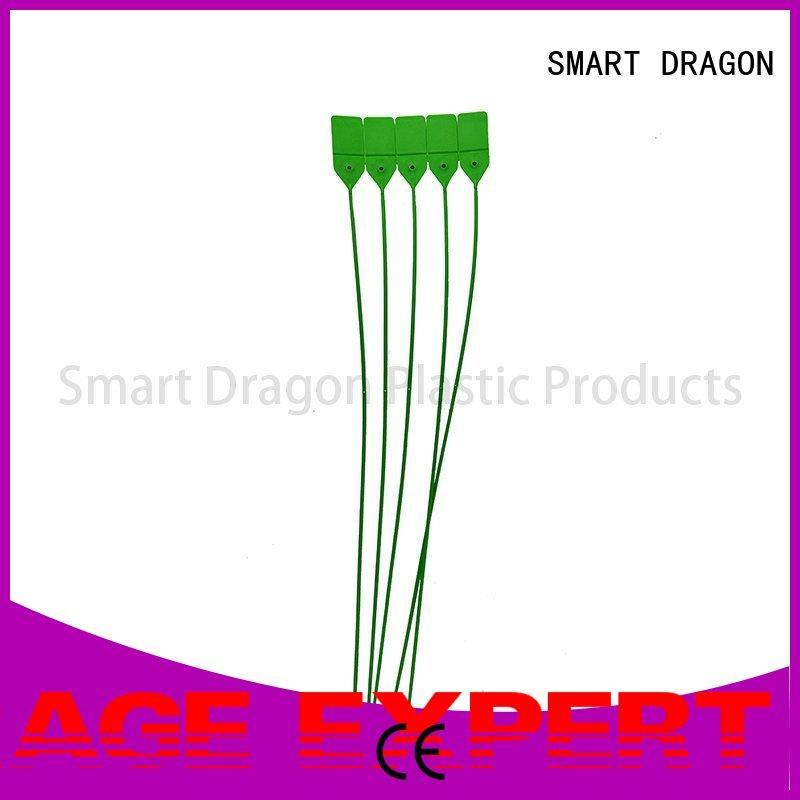 green plastic tamper evident seals tigh for voting box SMART DRAGON