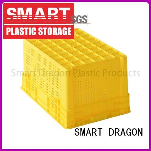 easy storage folding plastic turnover boxes box SMART DRAGON Brand
