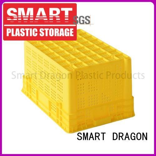 easy storage folding plastic turnover boxes box SMART DRAGON Brand