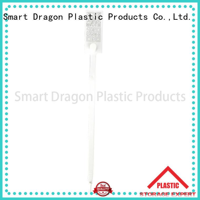 370mm plastic bag security seal pull tag SMART DRAGON company