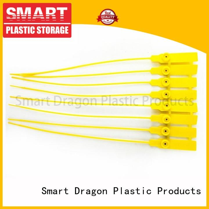 SMART DRAGON Brand evident plastic bag security seal disposable factory