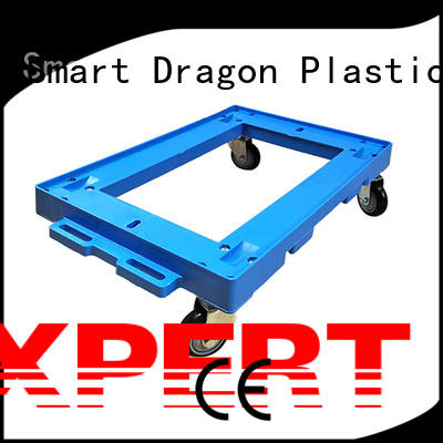 SMART DRAGON platform plastic hand truck free sample for platform