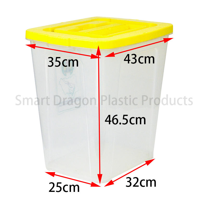 SMART DRAGON-Polypropylene 50-60l Plastic Voting Ballot Box | Plastic Ballot