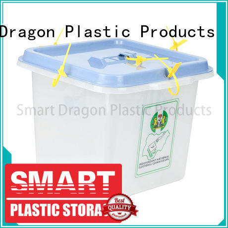 simple pp ballot box custom-made for election