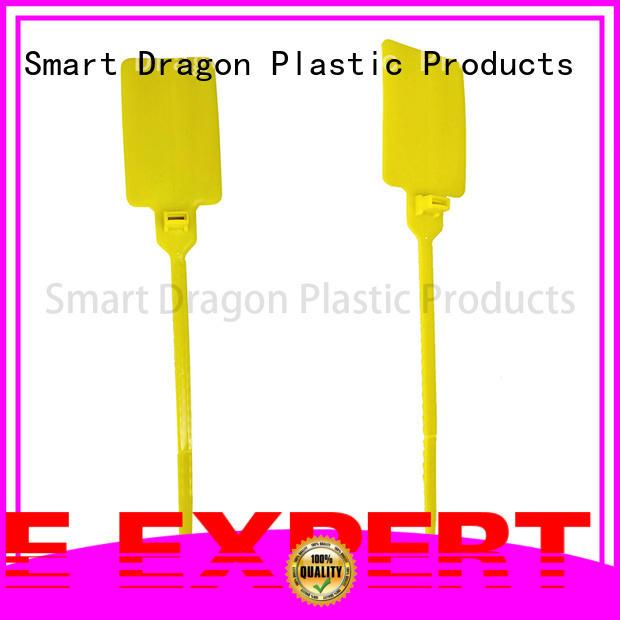 SMART DRAGON Brand seals printed plastic bag security seal manufacture
