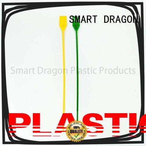 high-quality security ties plastic extinguisher for ballot box SMART DRAGON