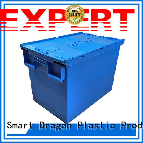 crate logistics box SMART DRAGON Brand plastic turnover boxes supplier