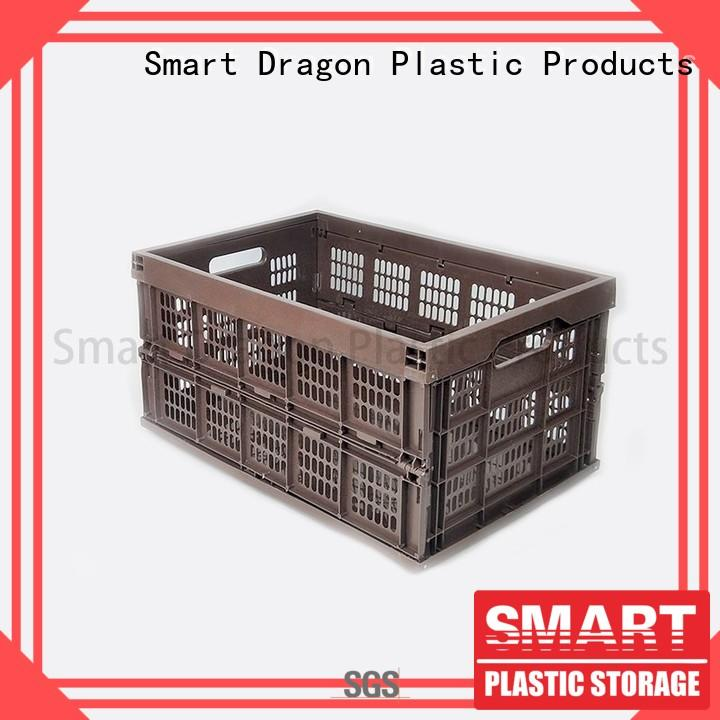 SMART DRAGON best rated plastic folding boxes manufacturing site for turnover