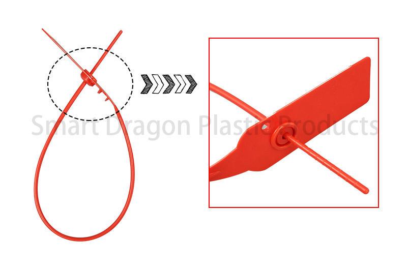 SMART DRAGON-Find Tamper Proof Seal Plastic Security Seals Total Length In 260mm |-1