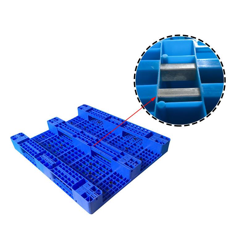 SMART DRAGON-Heavy Duty 1300x1100 Flat Pallet Single Face Plastic Pallet | Company-1