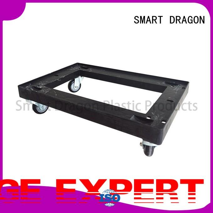 pp plastic trolley with lids for transportation