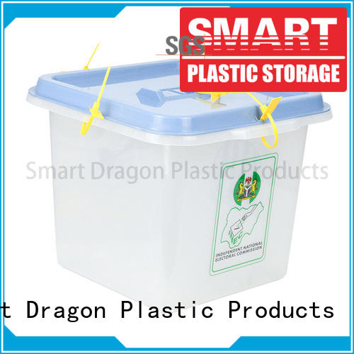 ballot box company sign clear plastic products manufacture