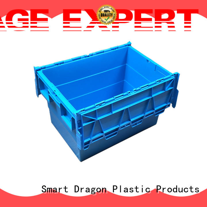 SMART DRAGON easy durable turnover crate on-sale for supermarket