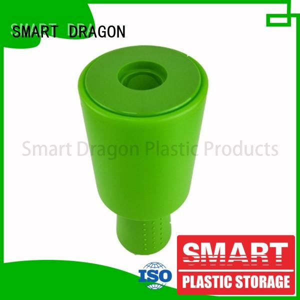 Green Plastic Charity Collection Boxes with New Rounded Hand Held