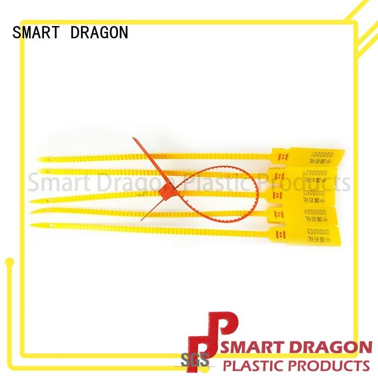 208mm plastic luggage seal tigh for voting box SMART DRAGON