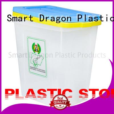 SMART DRAGON top polypropylene pp ballot box 48 for election