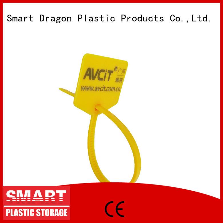 pull serial locking SMART DRAGON Brand plastic bag security seal supplier